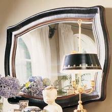 Leather Landscape Mirror