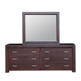 Contempo 6/Drawer Long Dresser