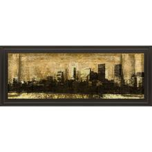 """""""Defined City I"""" By Sd Graphic Studio Framed Print Wall Art"""