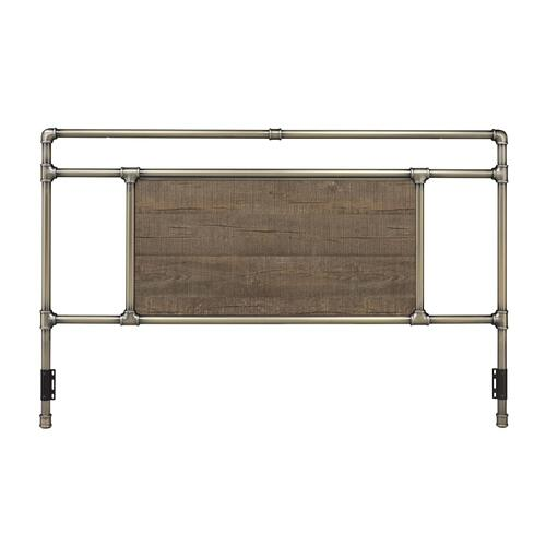 Elkton Bed - King, Antique Brass Finish