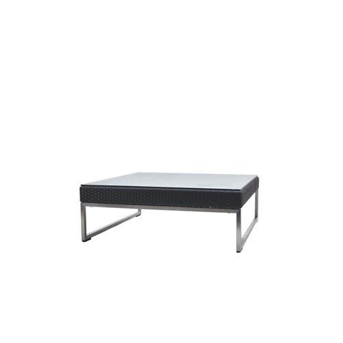 Vilano End Table w/Clear Glass