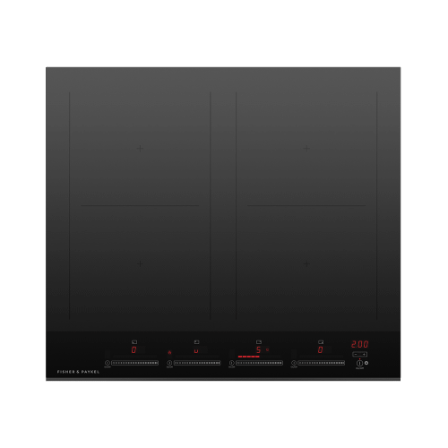 """Fisher & Paykel - Induction Cooktop, 24"""", 4 Zones with SmartZone"""