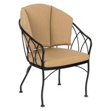 Delaney Dining Chair with Optional Back Cushion