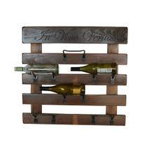 6 Bottle Wall Rack