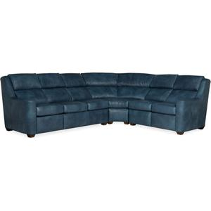 Bradington Young Loewy LAF Sofa Recline At Arm w/Articulating Headrest 941-61