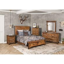 HH-4365 Bedroom  5 Piece Queen Bedroom Set