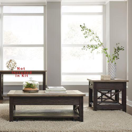 Liberty Furniture Industries - Opt 3 Piece Set (1-Cocktail 2-End Tables)