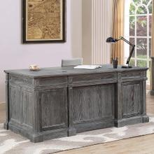 GRAMERCY PARK Double Pedestal Executive Desk