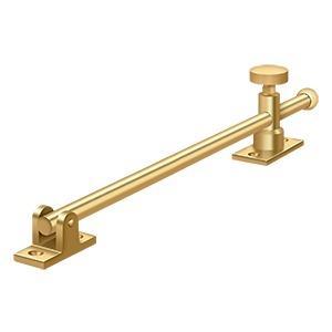 "Deltana - 12"" Casement Stay Adjuster - PVD Polished Brass"