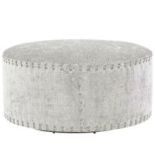 "Pi Cocktail Ottoman 36"" Round - Special Order"