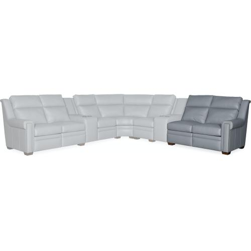 Bradington Young Imagine RAF Loveseat Recliner At Arm - W/Articulating HR 960-56
