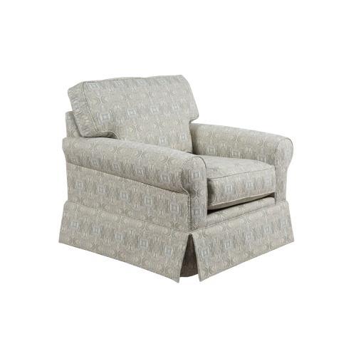 Upholstered Chair, Skirted.