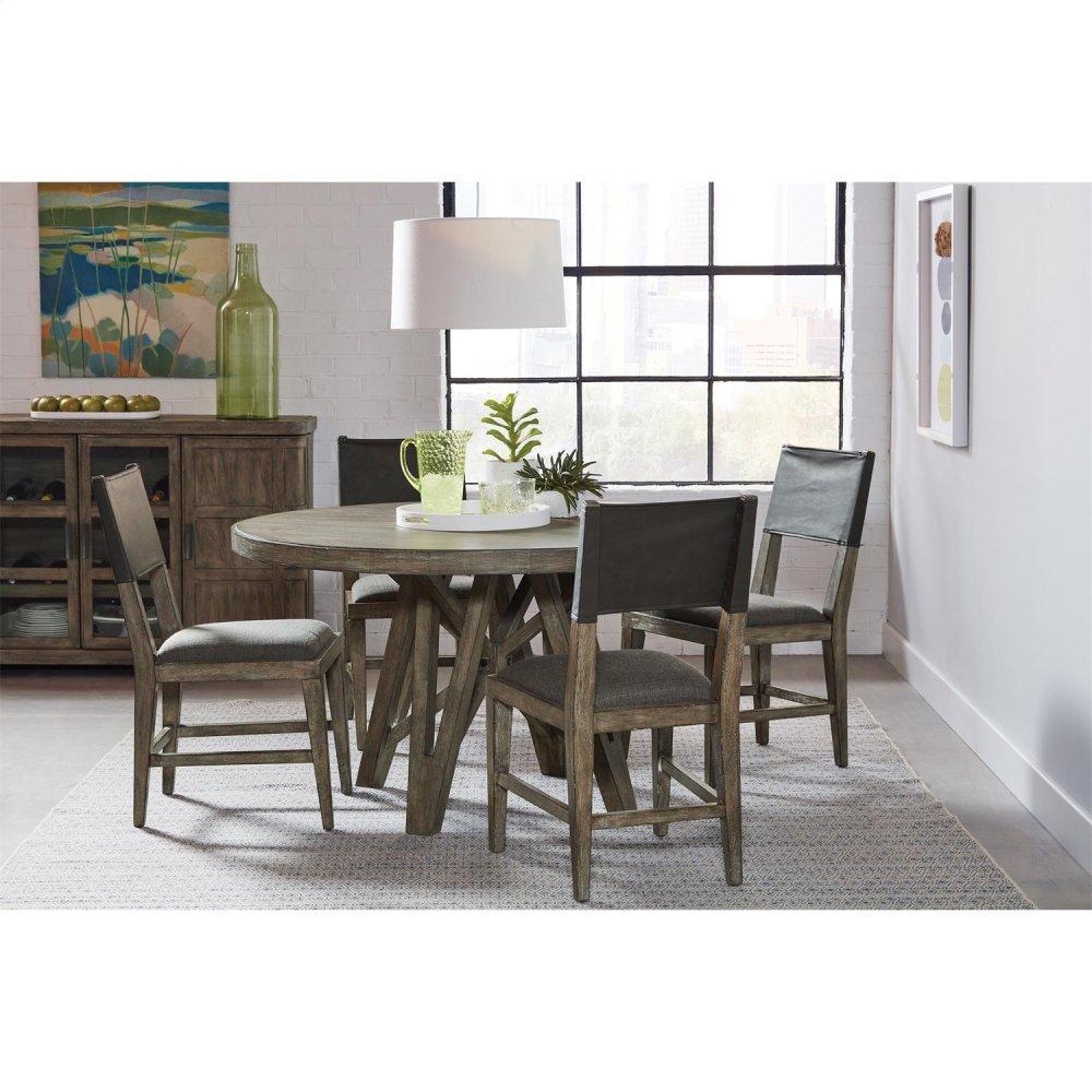 Milton Park - Upholstered Seat Side Chair - Primitive Silk Finish