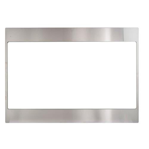 10 Ft. Ceiling Duct Cover Kit for Decorative Range Hoods Stainless Steel JXDC71SS