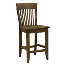 Model 58 Counter Stool Wood Seat