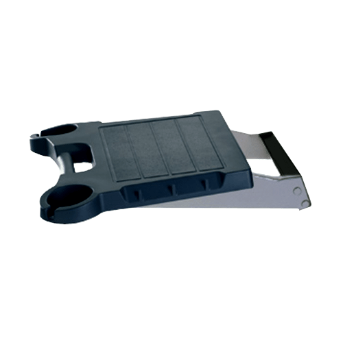 BLACK SOLID SURFACE SIDE SHELF SKFB2