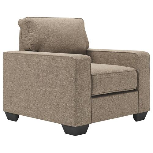Sofa Chaise, Chair, and Ottoman