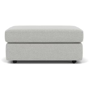 Vail Cocktail Ottoman with Casters