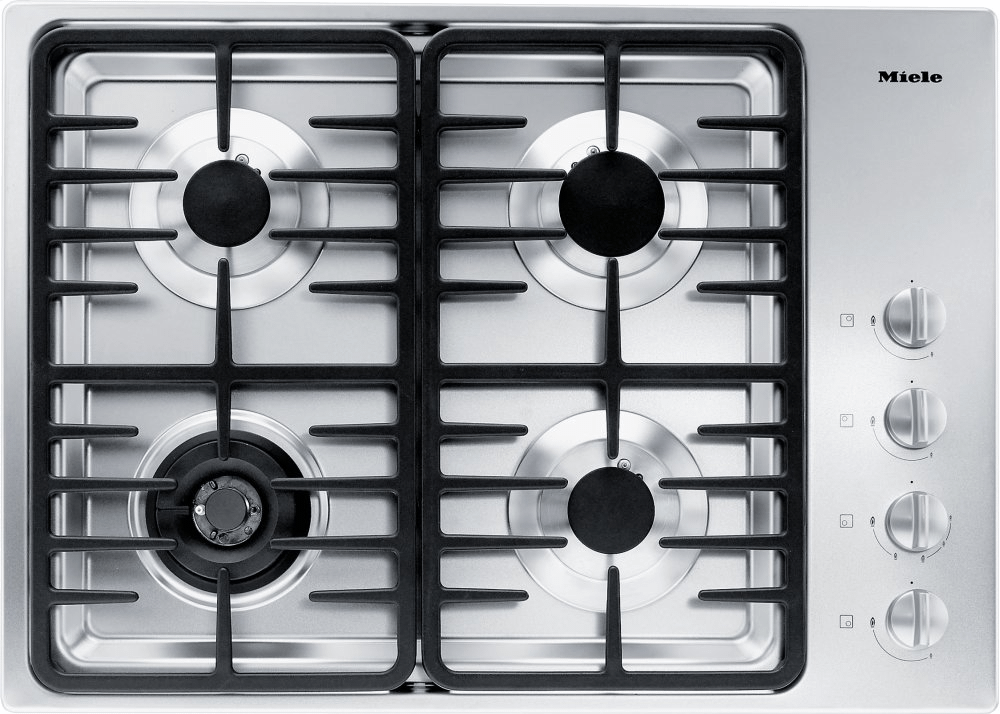 MieleKm 3465 Lp - Gas Cooktop With A Dual Wok Burner For Particularly Wide Ranging Burner Capacity.