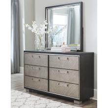 Maretto Dresser and Mirror Two-tone