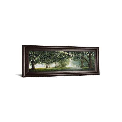 "Product Image - ""Lake Shore Drive"" By Bruce Nawrocke Framed Print Wall Art"