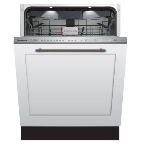 Blomberg Appliances - Tall Tub dishwasher 8 cycles top control 3rd rack full integrated panel overlay 45dBA
