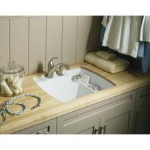 """Latitude® Undercounter Utility Sink, 25"""" x 22"""" x 12"""" - White"""