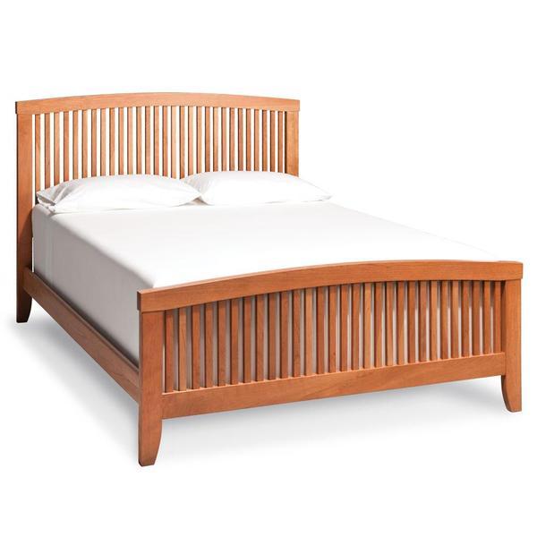 See Details - Justine Slat Bed, Queen