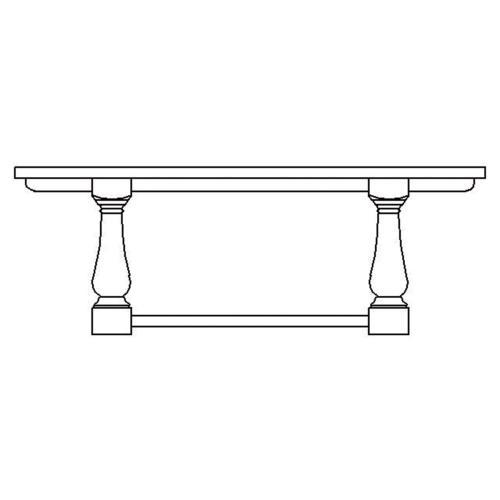 Hemmingway Dining Table 84''
