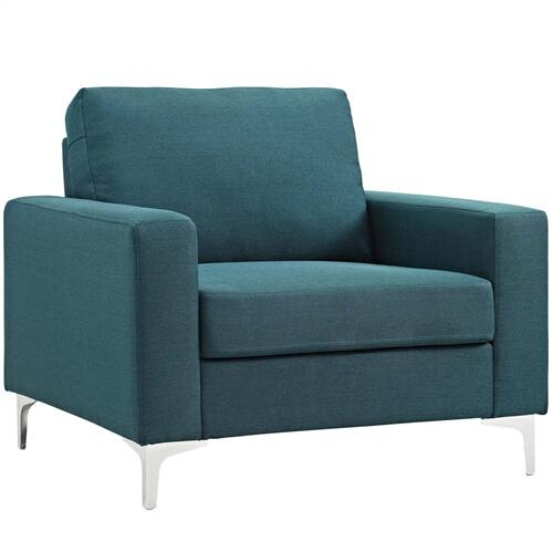 Allure 2 Piece Armchair Set in Blue