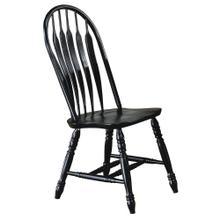 See Details - Comfort Back Dining Chair - Antique Black (Set of 2)