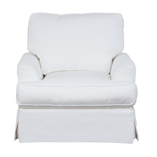 Ariana Slipcovered Chair - Performance White