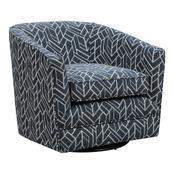 Emerald Home Trilogy U4198-04-04 Swivel Chair W/1 Pillow