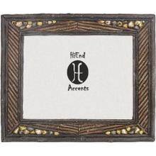 "River Rock Picture Frame (4x6/8x10) - 4"" X 6''"