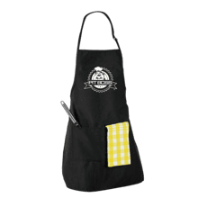 PB Black Apron With Pocket