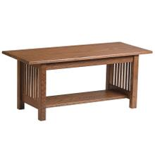 View Product - Mission Coffee Table