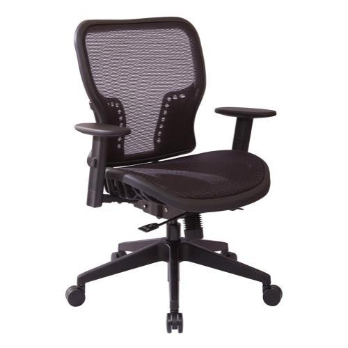 Dark Air Grid Seat and Back Executive Chair