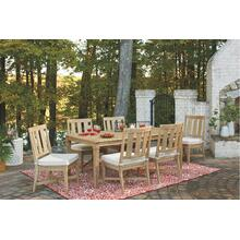 Clare View Outdoor Dining Table and 6 Chairs