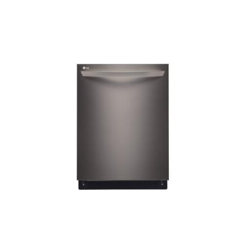 Gallery - LG Black Stainless Steel Series Top Control Dishwasher with EasyRack Plus