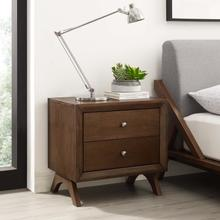 See Details - Providence Nightstand or End Table in Walnut