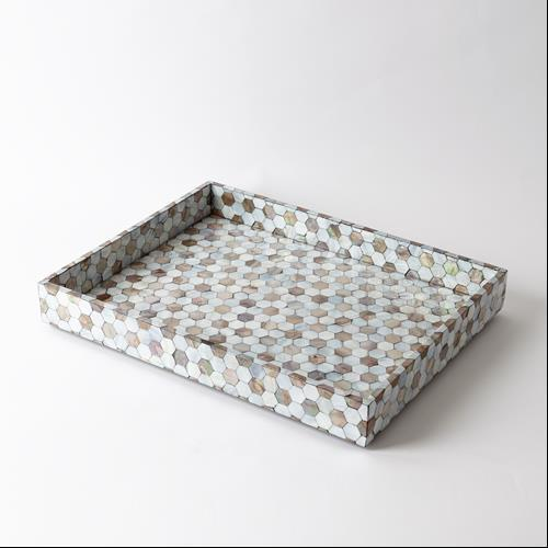 Mother of Pearl Tray-Lg