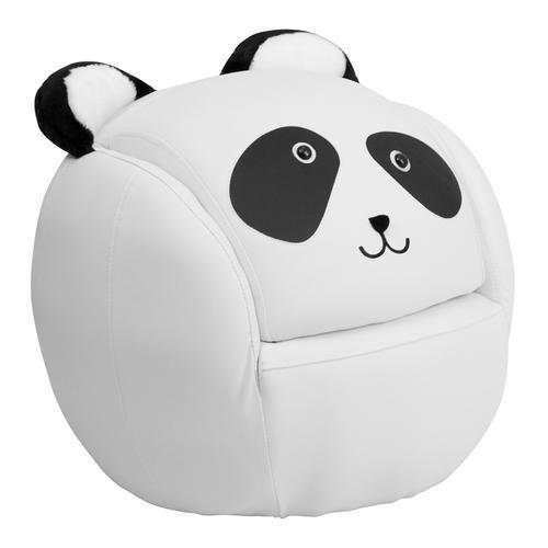 Kids Panda Chair and Footstool