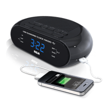 USB Charging Clock Radio