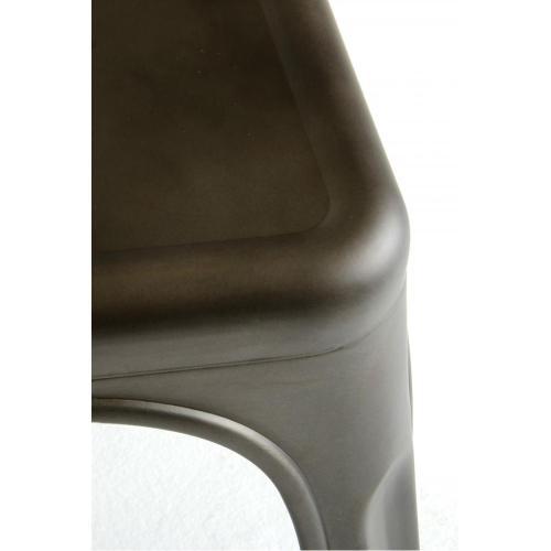 Elan - Modern Rust Metal Dining Chair (Set of 2)