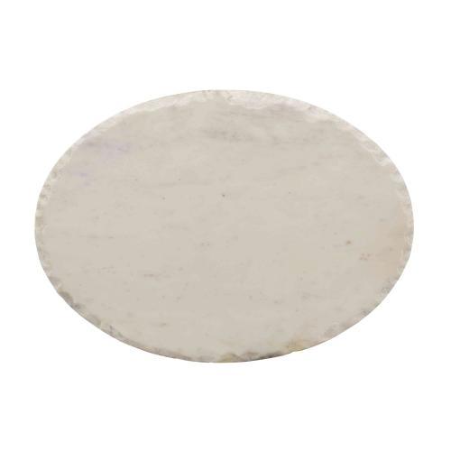Tov Furniture - Hanish White Marble Tables - Set of 2