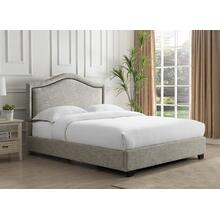 Grayling Platform Bed - King, Sandstone