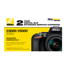 D3000/D5000 Series Extended Service Coverage (2 Years)