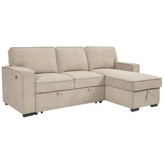 Darton 2-piece Sleeper Sectional With Storage