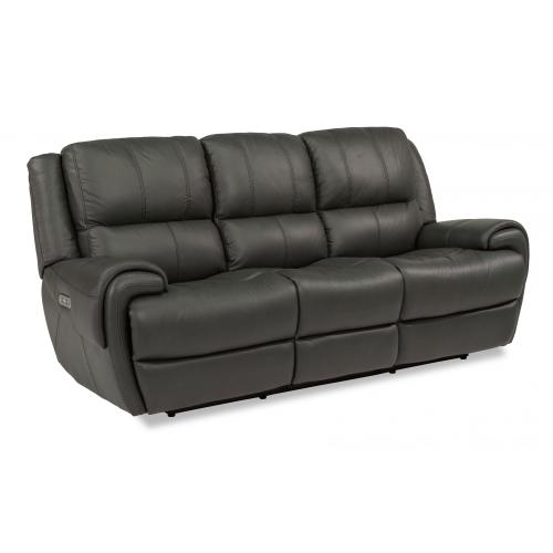 Product Image - Nance Power Reclining Sofa with Power Headrests