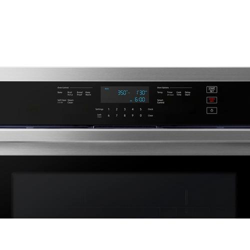 """30"""" Single Wall Oven with Wi-Fi in Stainless Steel"""